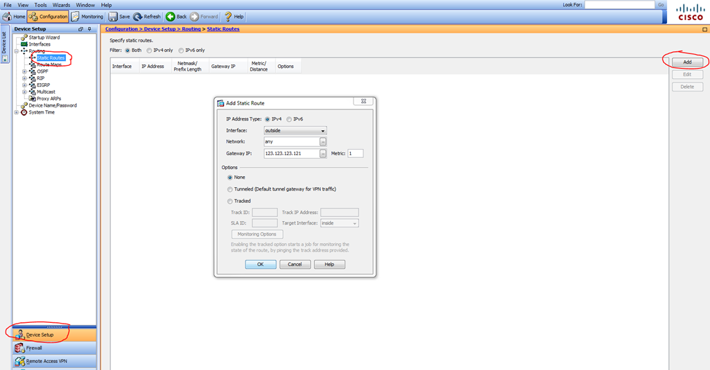 Configure Cisco ASA for SBS 2008/2011 Network using ASDM