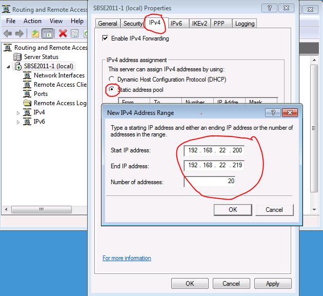 SBS 2011 Essentials – Configuring VPN access | LAN-Tech