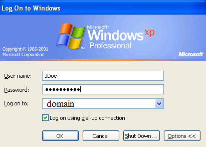 bypass network login windows 8