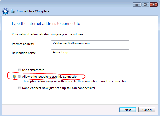 How To Join A Windows Domain Using A Vpn Lan Tech Network Management