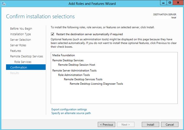 Add 2012 RDS server to SBS 2008/2011 | LAN-Tech Network Management